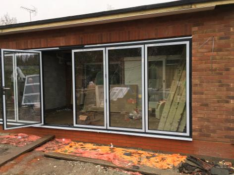 bifold doors, quote for bifold door, aluminium bifold doors