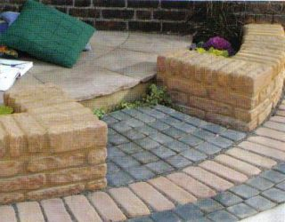 wall and block paving